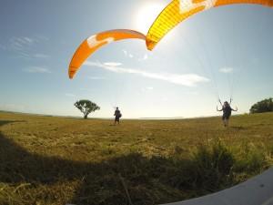 Spielen im Wind