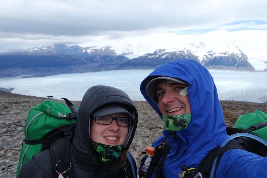 Selfie vor dem Perrito Moreno Gletscher
