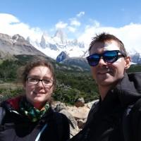 Aussichtspunkt mit Sicht auf das Fitzroy Massif