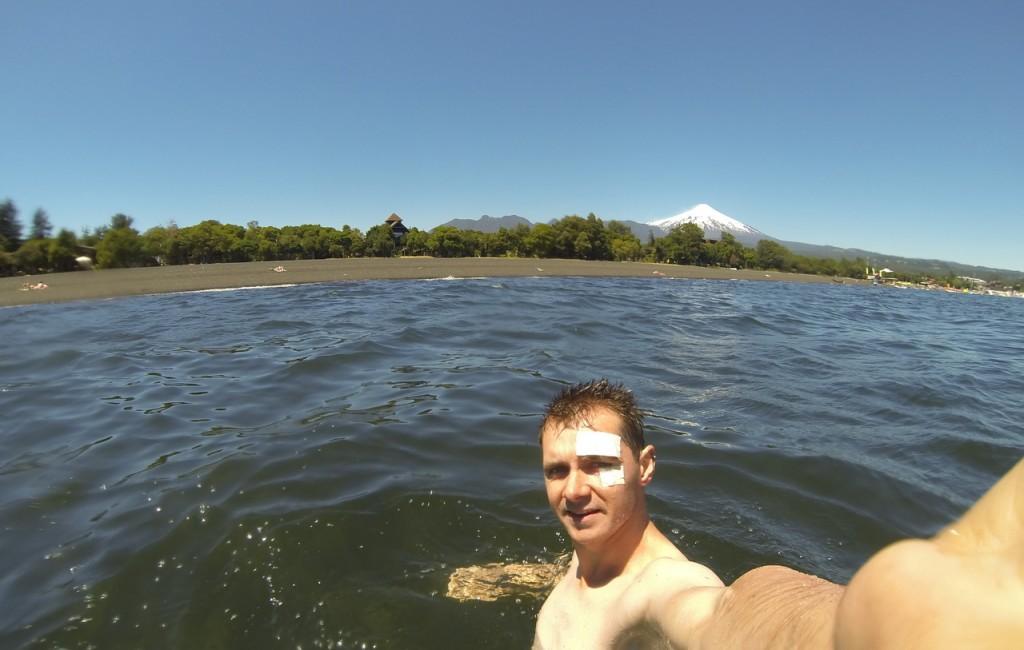 Schwimmen in Pucon