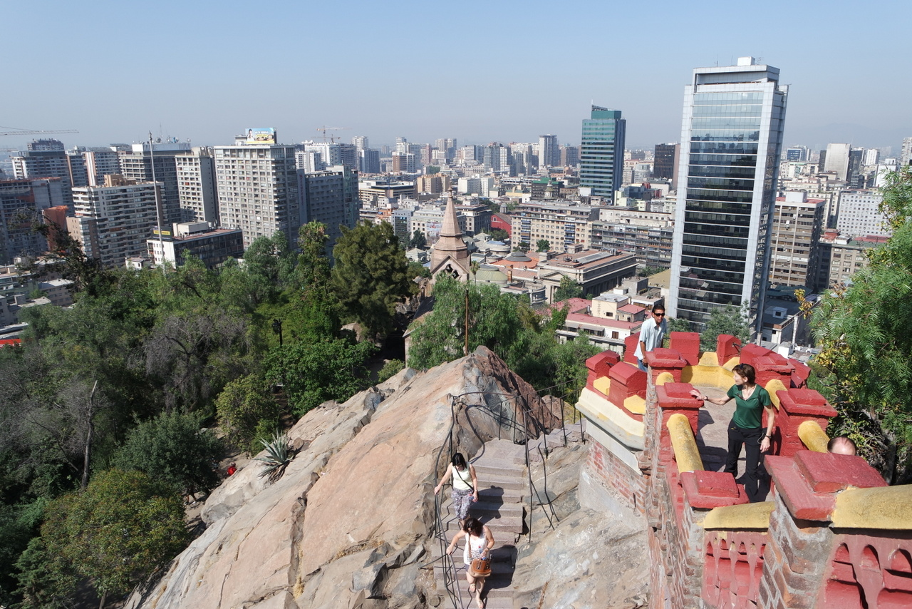 Ein langer Tag in Santiago de Chile
