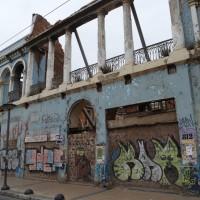 zerfallene Gebäude in Valparaiso