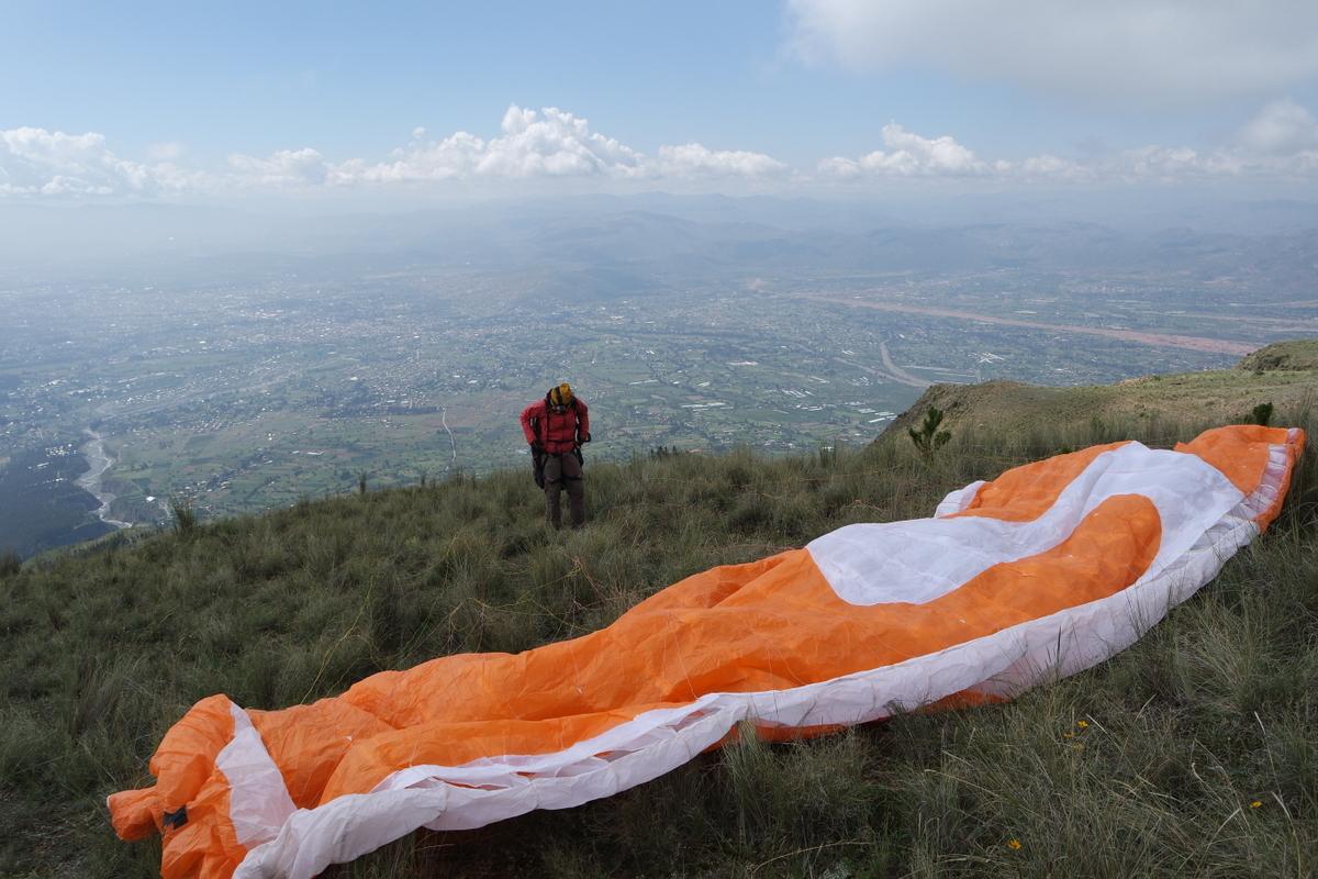 Höhenflug in Cochabamba