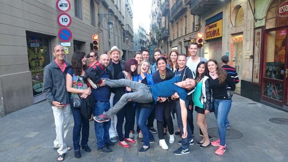 Zurück in der alten Welt – Barcelona