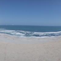 panorama des gleitschirm fluggebiet paracas natinalpark
