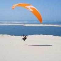 Paragliding an der Dune de Pyla