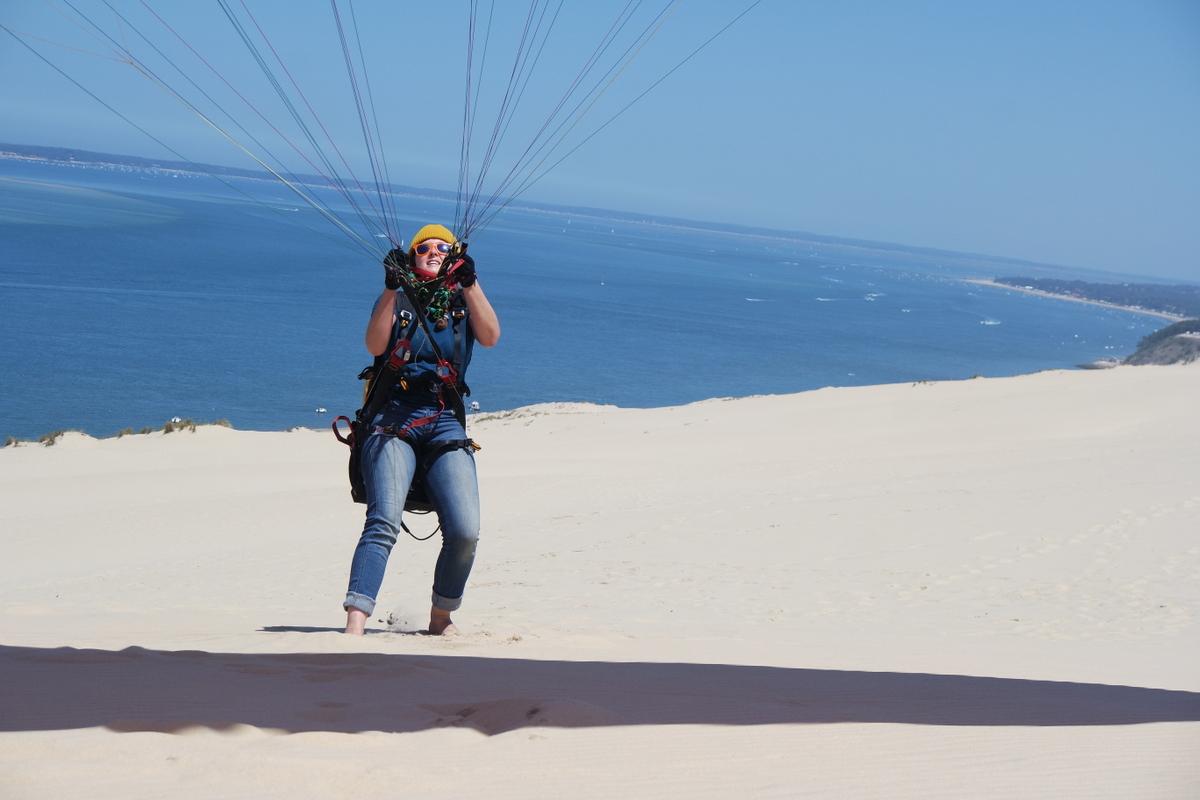 Dune de Pyla – ein Sandstrand zum Fliegen