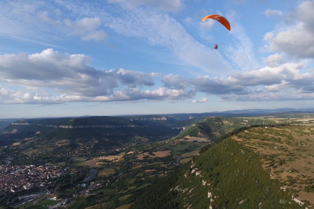 Gleitschirm fliegen in Millau