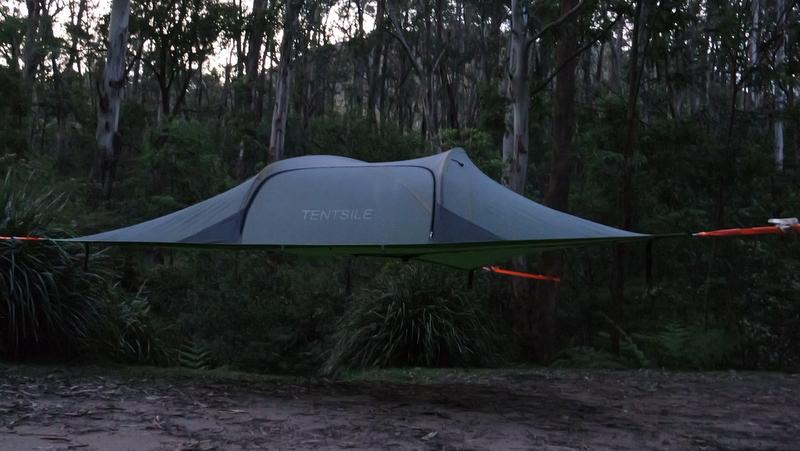 Tentsile – eine Nacht im Baumzelt