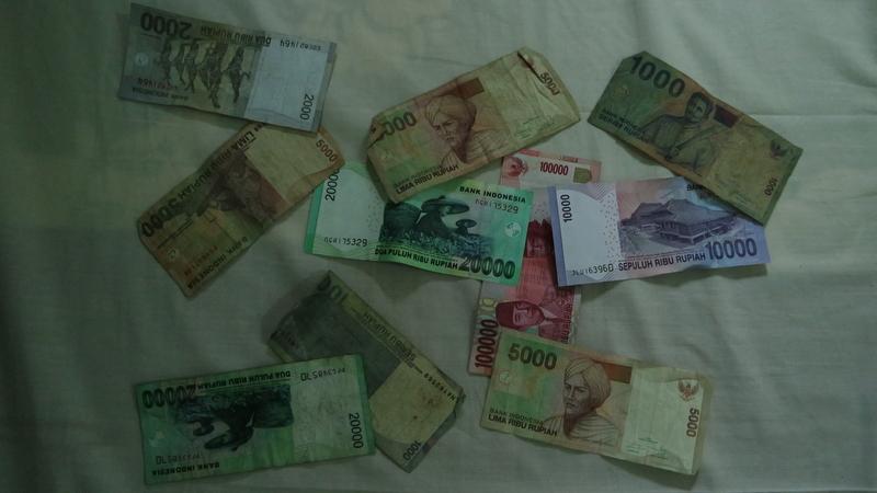 Reisekosten Indonesien