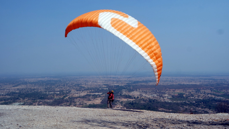 Paragliding Start in Thailand
