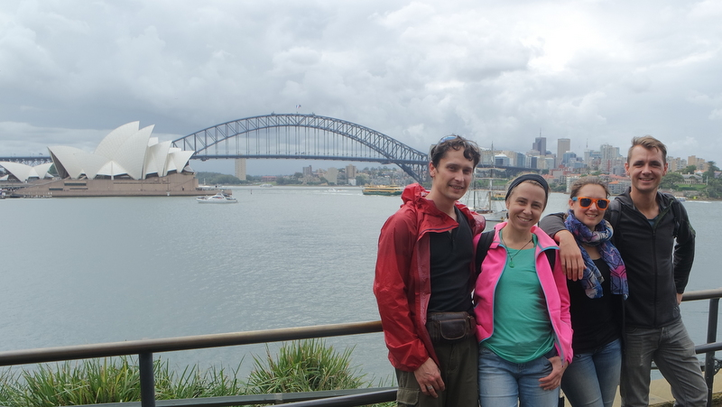 Sydney – Wiedersehen mit Freunden